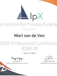 Certificate CM2 Professional