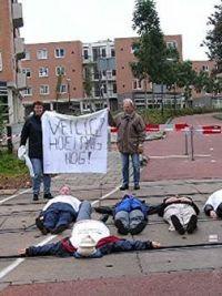 Bewonersprotest